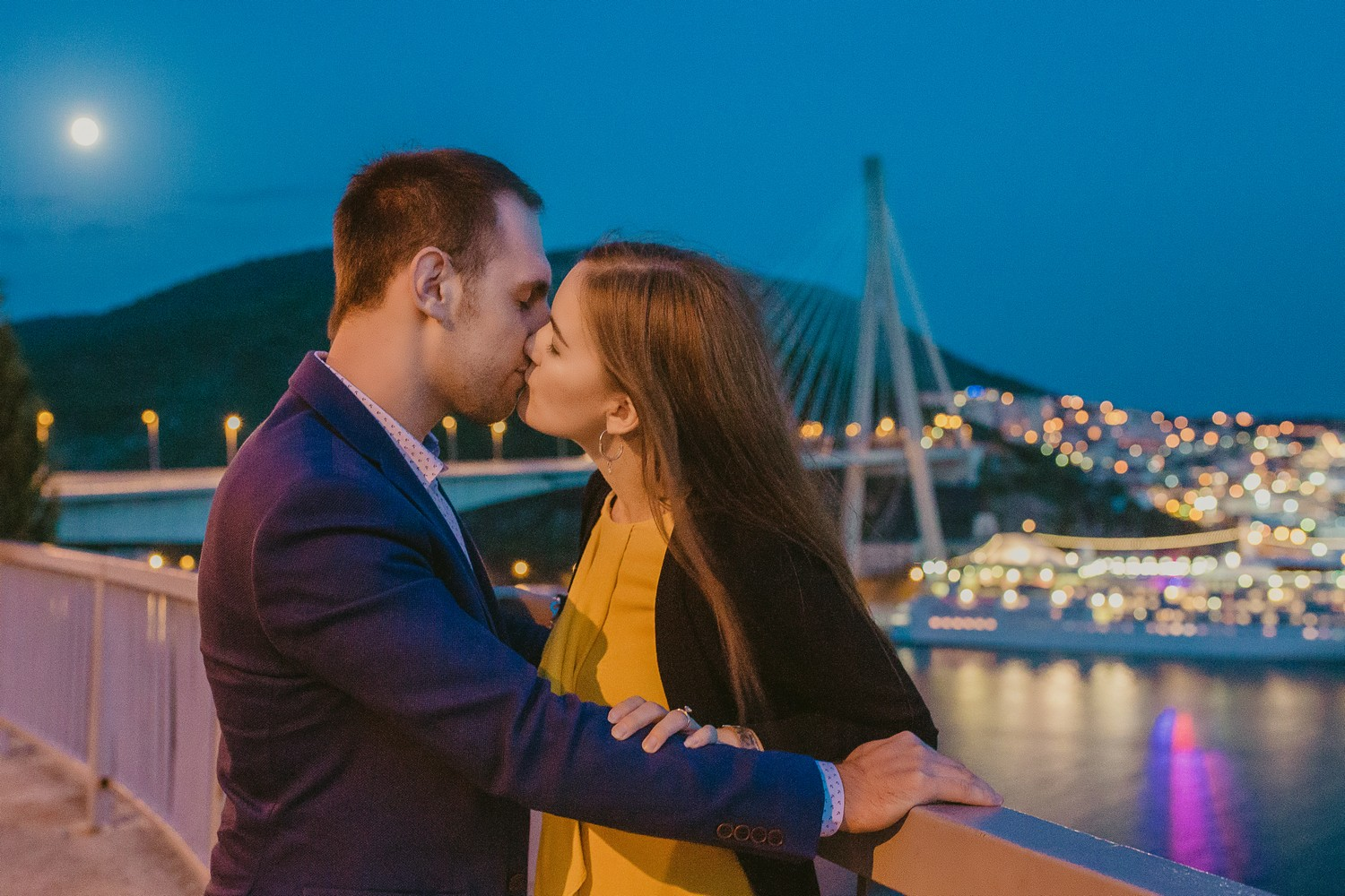 dubrovnik croatia bridge engagement session