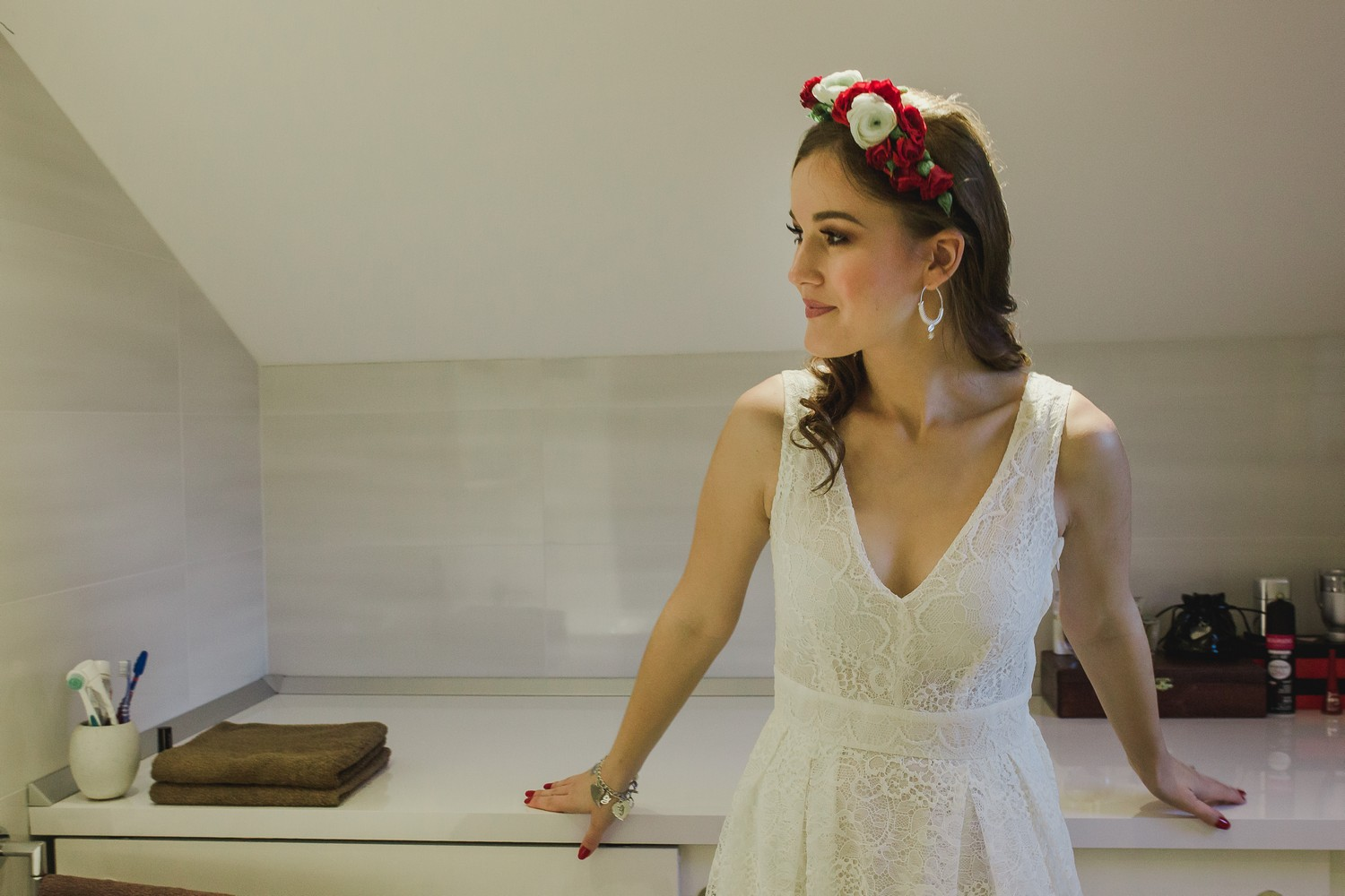 dubrovnik croatia wedding bride getting ready