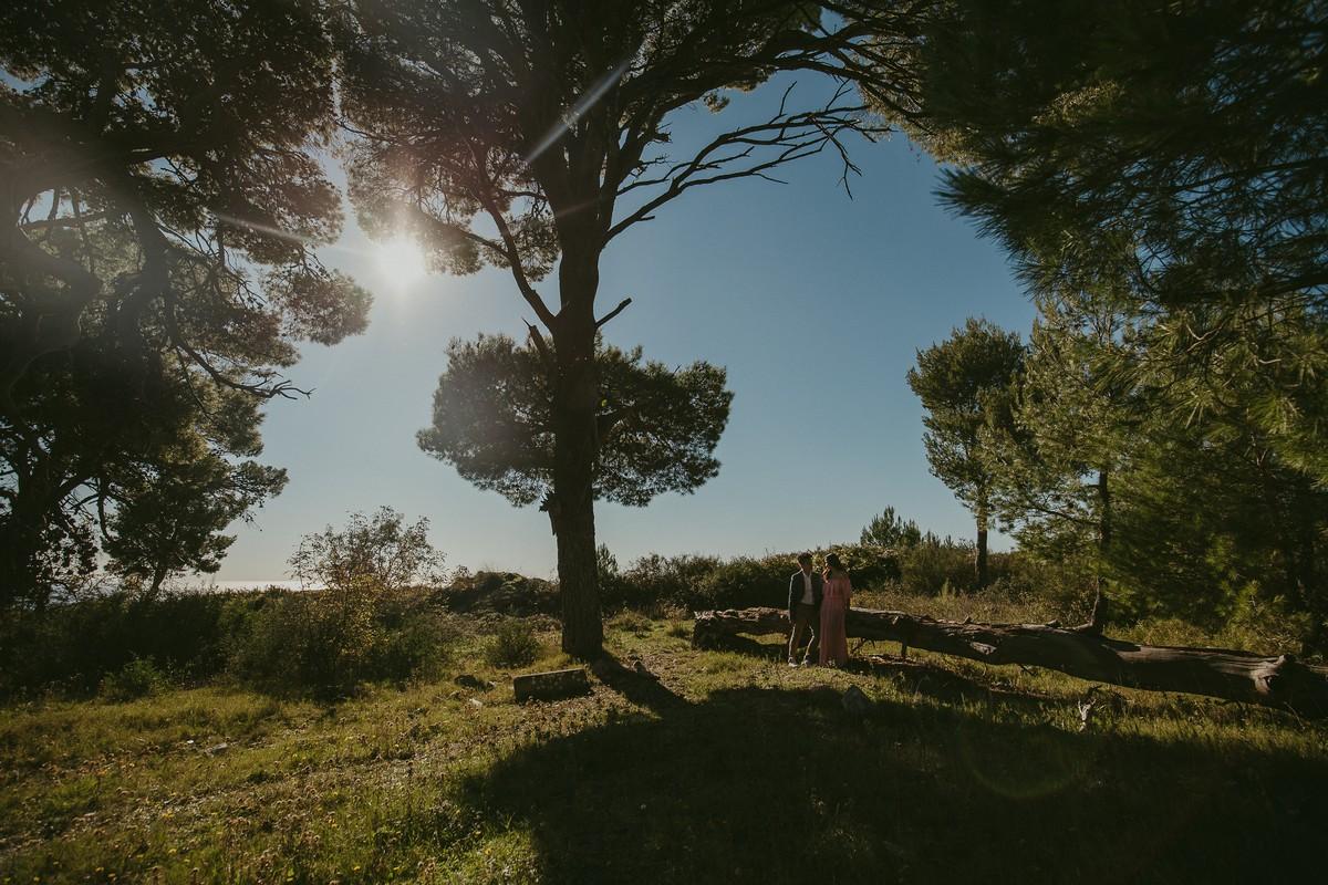 dubrovnik hill srd croatia engagement session
