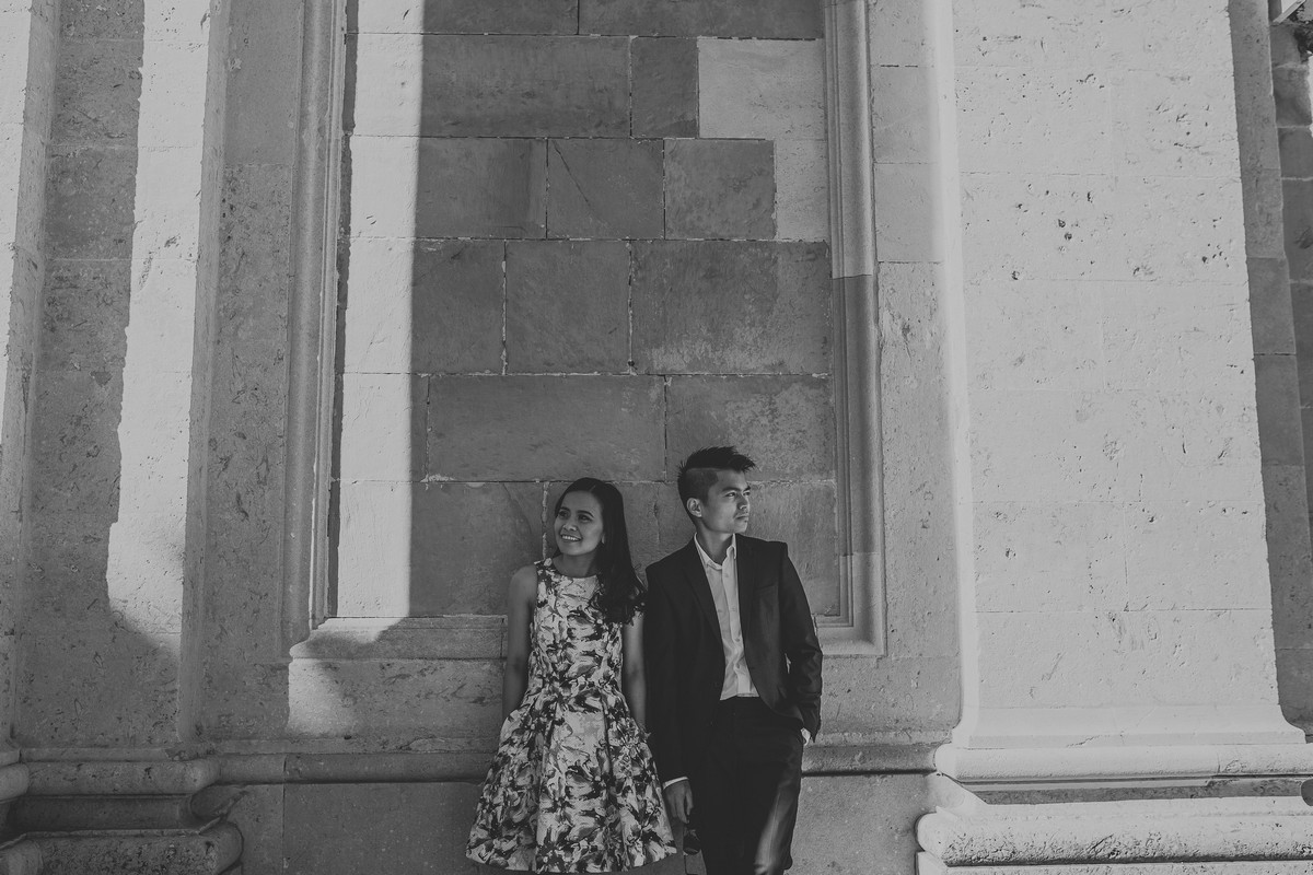 dubrovnik old town croatia engagement session